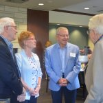 Catholic Charities of St. Paul and Minneapolis and the University of St. Thomas celebrated a new, official partnership for the common good.