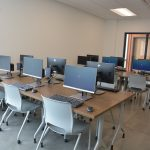 Computer lab at Saint Paul Opportunity Center
